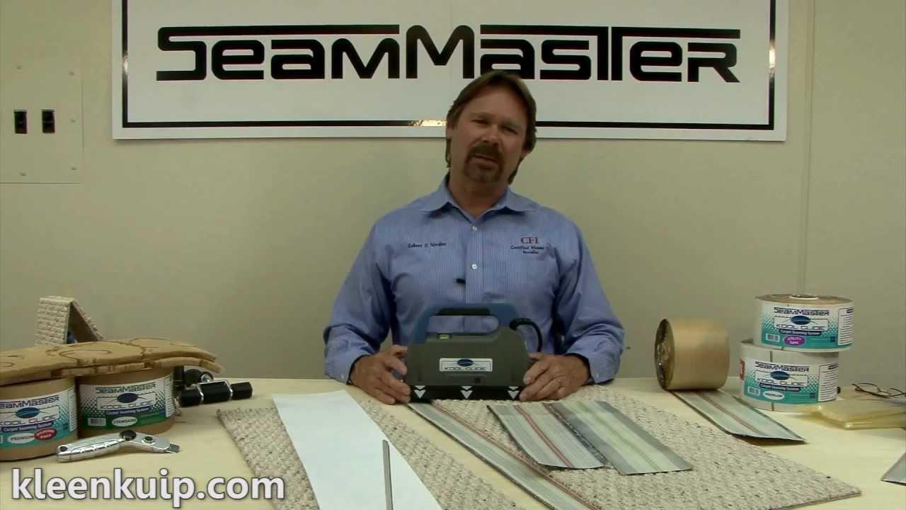 Kool Glide Carpet Amp Floor Seaming Machine Youtube