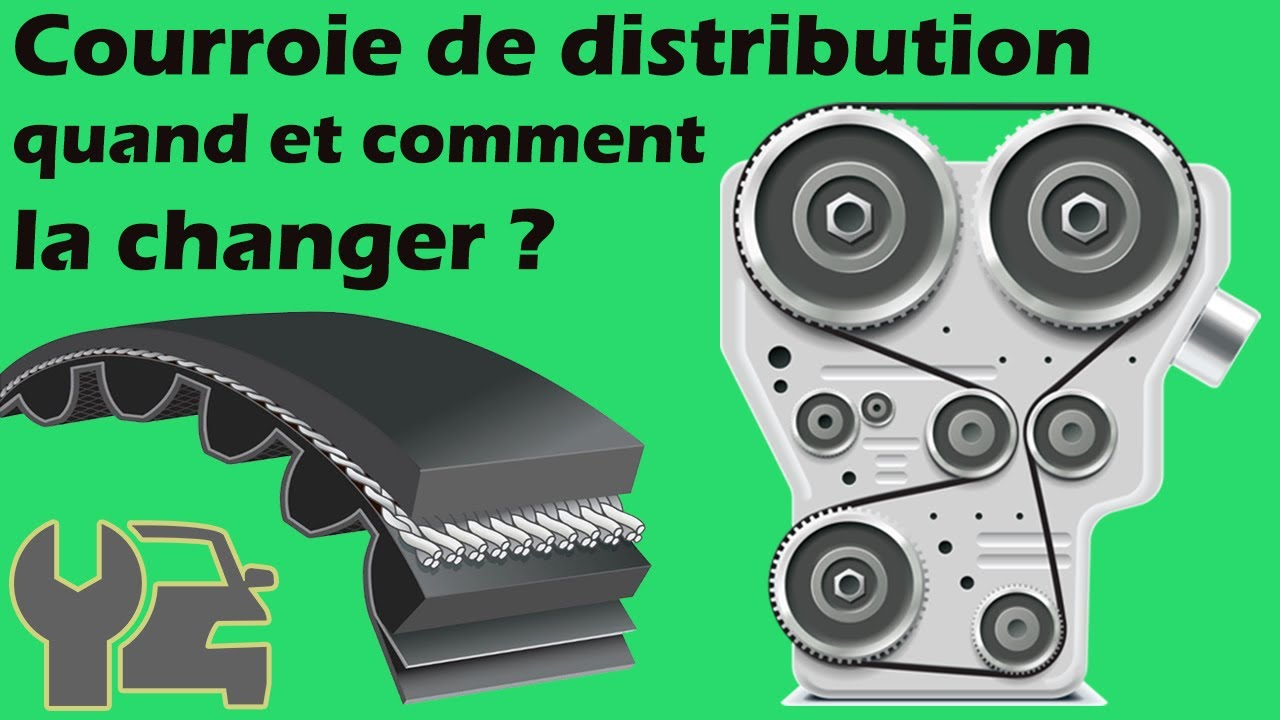 courroie de distribution quand et comment la changer youtube