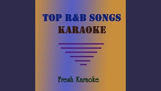 Forever (In the Style of Chris Brown) Karaoke