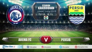 Download Video JADWAL Liga 1 LIVE STREAMING, AREMA FC VS PERSIB MP3 3GP MP4