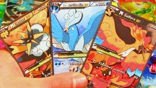 Top 10 Cartes Pokemon Ultra Rare Mega Electhor Vs Mega Sulfura Vs Mega Artikodin Youtube