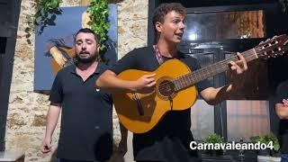 Juan Blanco y Rubén Vallejo (Pasodoble Bajo una luna - Los aislados) - Calesa By Pepe El Caja