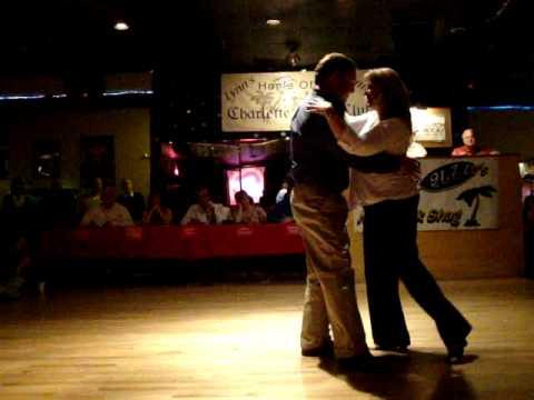 Paul Blackwelder & Jodie Zucchero  Newcomer's dance 4 1 11 2nd place mpg
