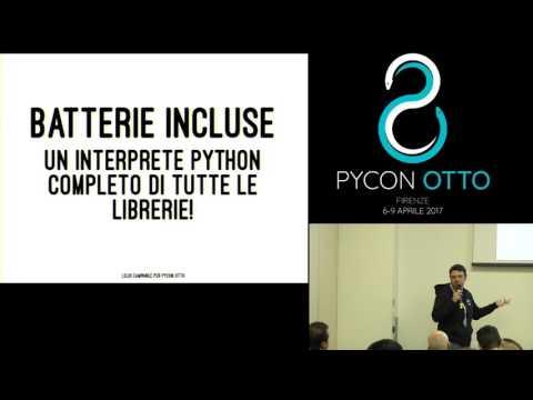 Image from Svilluppare con python sull'iPad