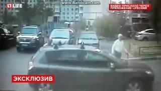 Похищение 9 летней девочки в Москве попало на видео