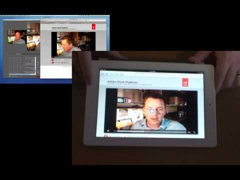 Sneak Peek: Apple streaming with Adobe Flash Media Server