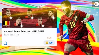 Belgium National Team Selection Pack Opening - Pes 2020 Mobile