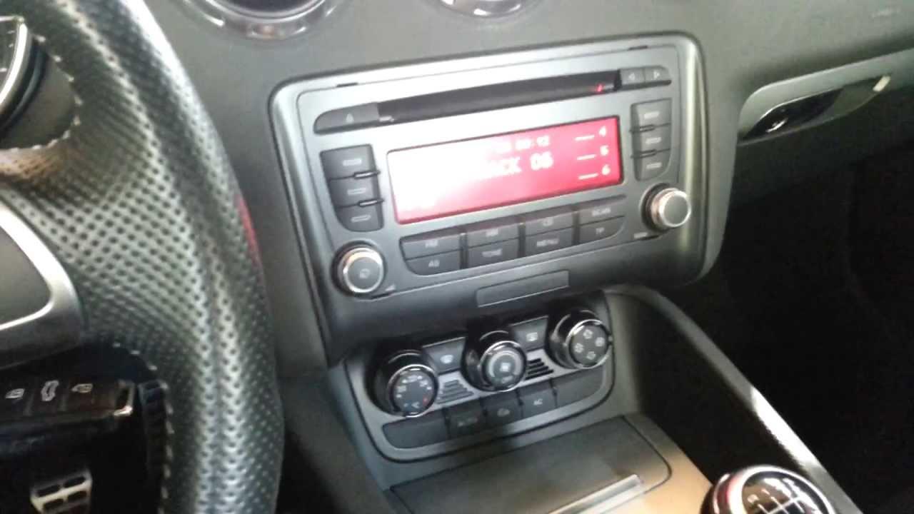 Bose Sound System >> audi tt bose sound system - YouTube