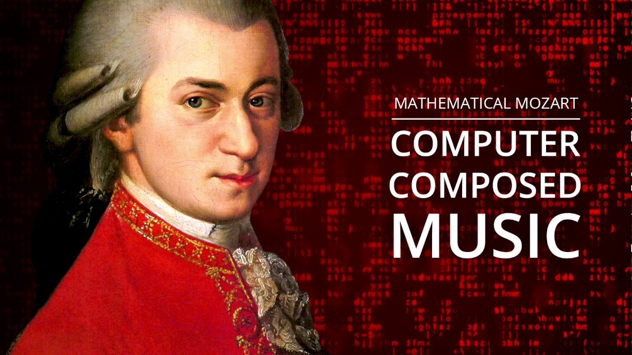 W. A. Mozart - Computer Generated Music - YouTube