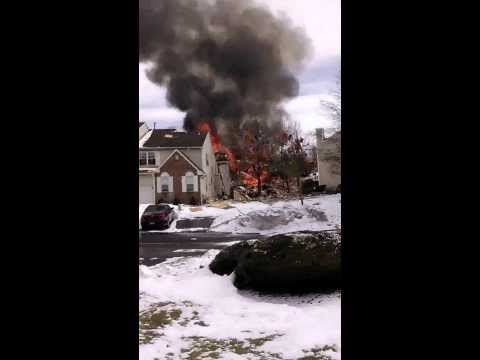 Ewing New Jersey Gas Explosion South Fork