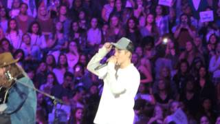 "Justin Bieber & Dan Kanter ""I'll Show You"" Acoustic an Evening With JB Chicago"