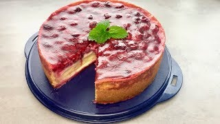 Himbeer-Pudding-Kuchen 🍰 aus dem Thermomix® TM5 - Thermilicious