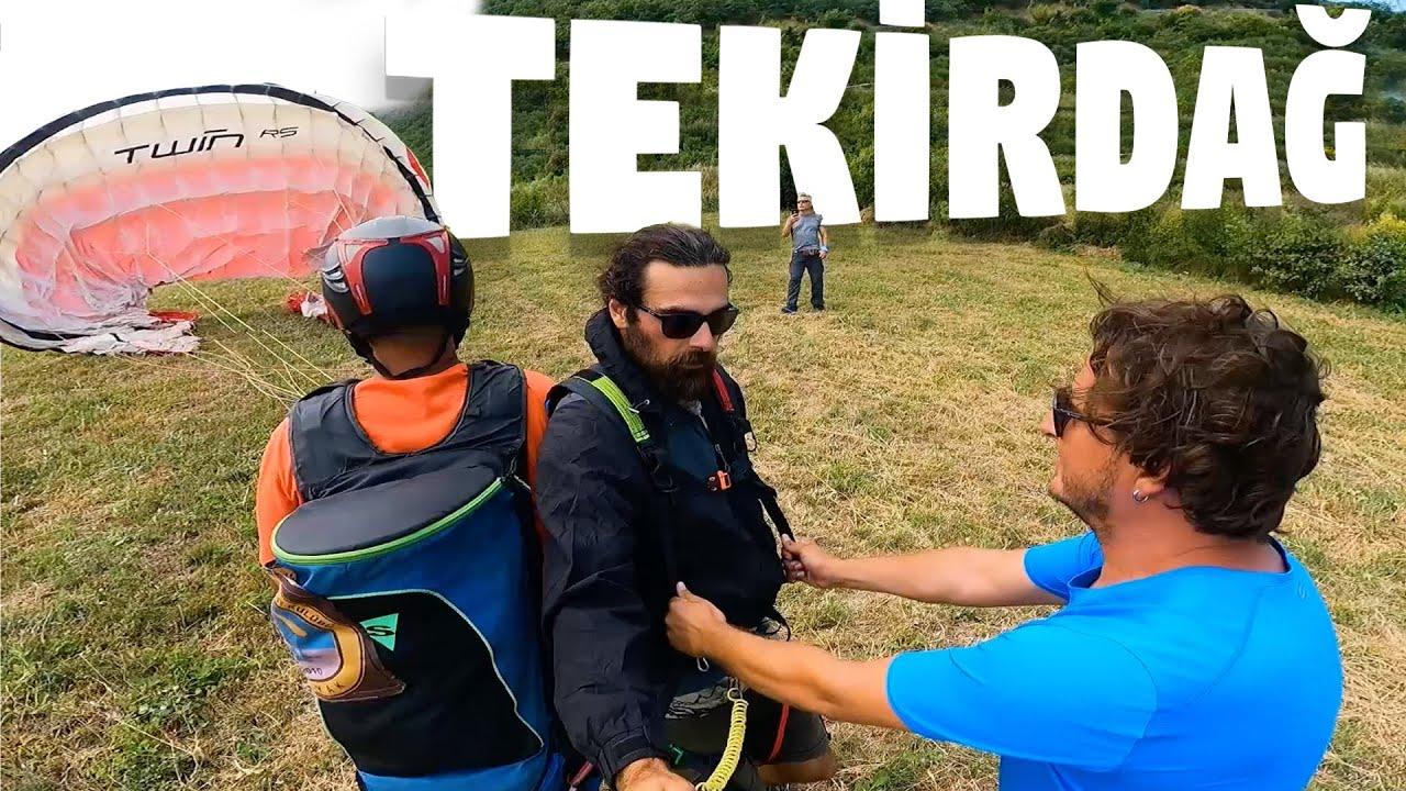 Bisikletle Türkiye Turu: Yamaç Paraşütüne Doydum #134