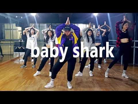 Baby shark remix / Dance Choreography 홍대댄스학원 신촌이지댄스 - YouTube