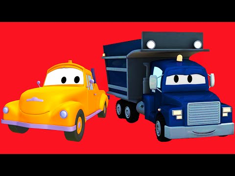 Tom the Tow Truck, Car Patrol, Carl Transform, Troy the Train and all kinds of trucks