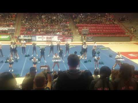 Rio Rancho High School Varsity Cheer State Competition,  Day 1