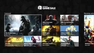 Xbox Game Sale July 5-11 2016