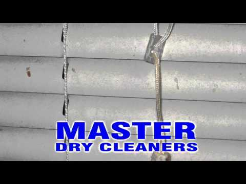 Master Dry Cleaners blinds