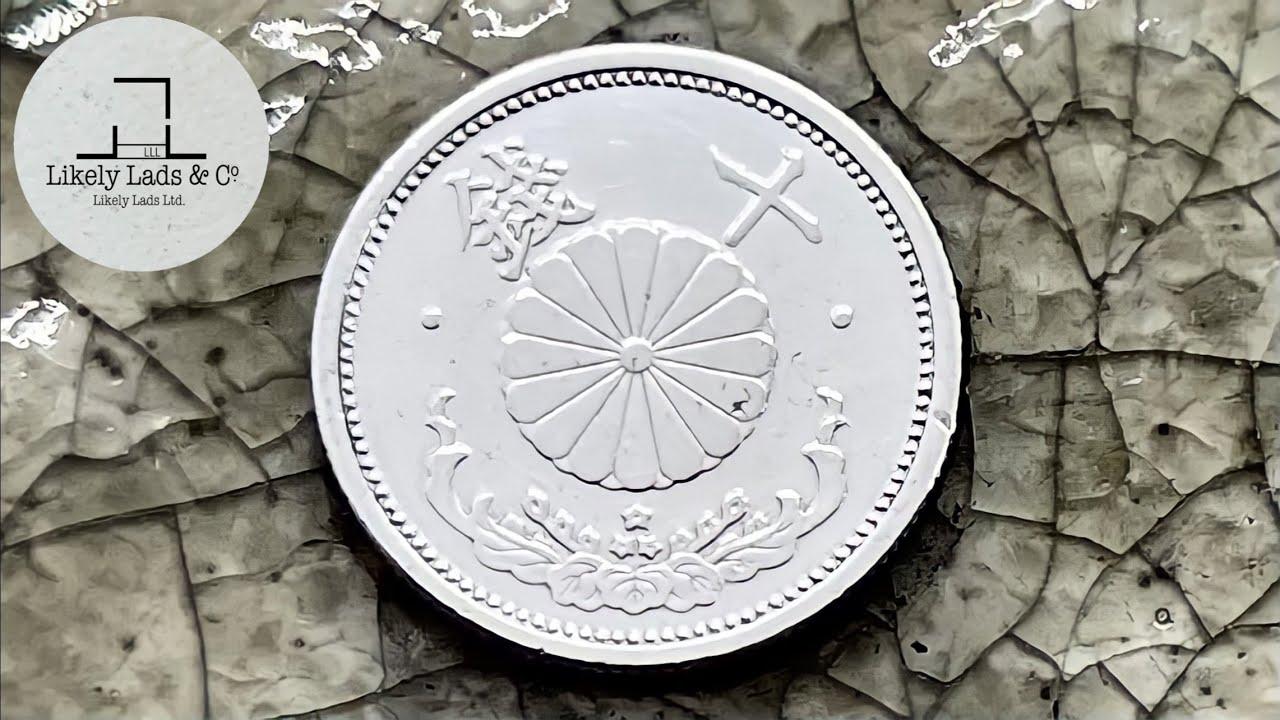私は魔女のキキ!こっちはピカールで鏡面仕上げして価値がなくなったアルミの古銭!コイン磨き Old Coins Restoration Time Lapse ASMR