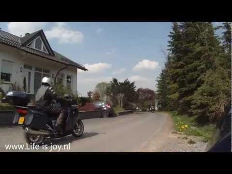 Theo on a BMW K1200GT in Sauerland Germany Deutschland