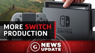 Nintendo Switch Production Reportedly Doubled - GS News Update