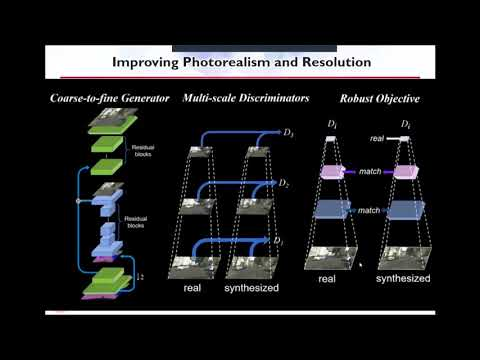 PR-065 : High-Resolution Image Synthesis and Semantic Manipulation with Conditional GANs
