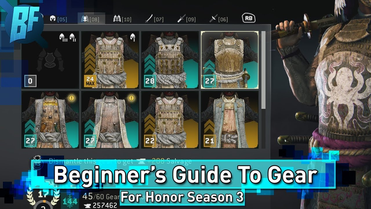 For Honor Season 3 Beginner S Guide Everything About Gear Youtube