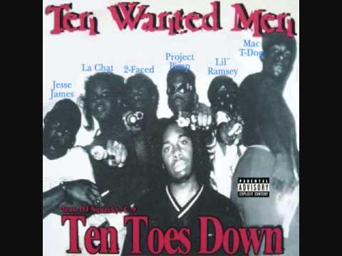 Ten Wanted Men - Insane N Da Brain