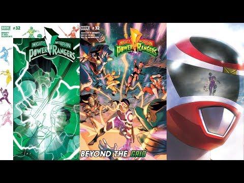 Mighty Morphin Power Rangers BOOM! Studios Comic #32