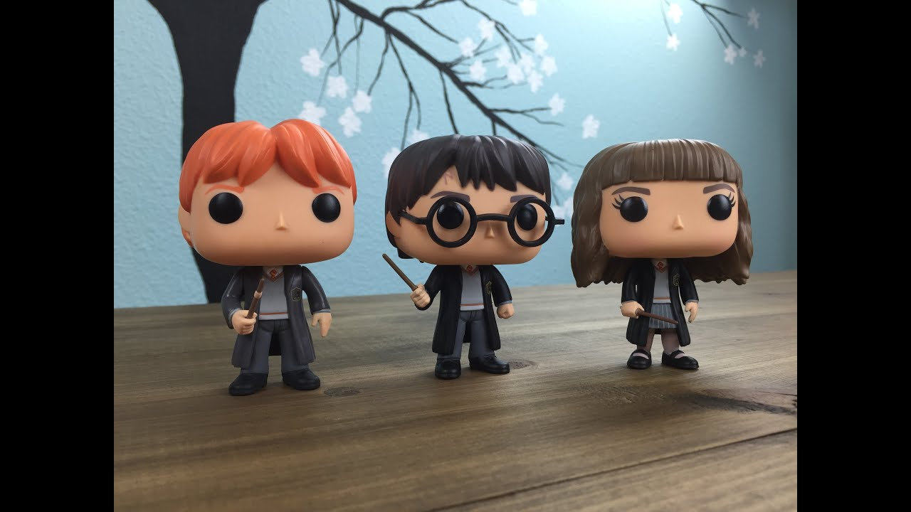 ed6ae74e981 Harry Potter Funko Pop! Series 1 Unboxing and Review - YouTube