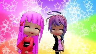 Une belle amitié qui dure depuis l'enfance entre Sabrina et Hana ^^...
