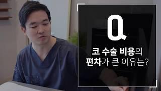 [눈,코성형 Q&A ④]코 수술 비용의 편차가 …