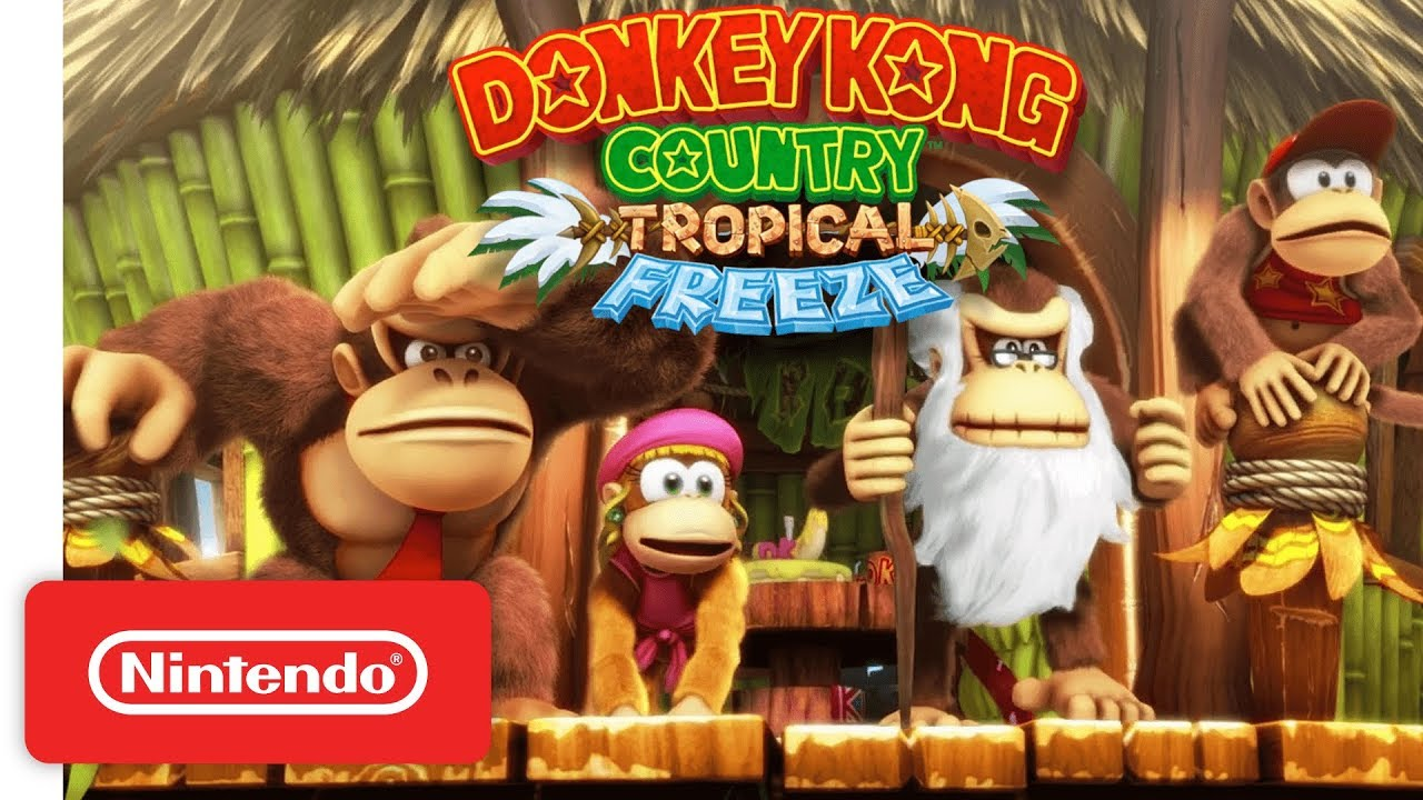 donkey kong country tropical freeze gameplay trailer nintendo