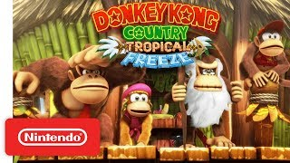 Download Donkey Kong Country: Tropical Freeze Gameplay Trailer - Nintendo Switch Mp3 and Videos