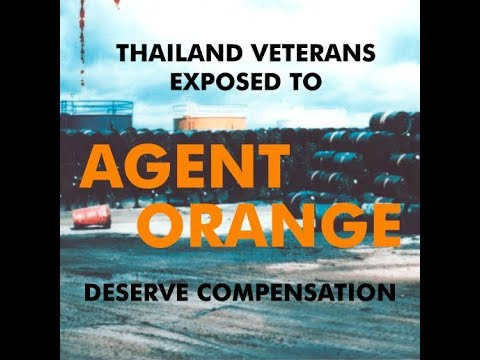Thailand Veterans Exposed to Agent Orange Deserve Compensation