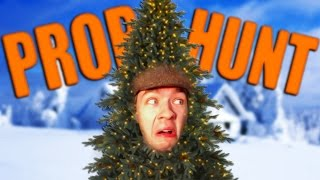 HIDING IN THE BUSHES   Gmod: Prop Hunt (Funny Moments)