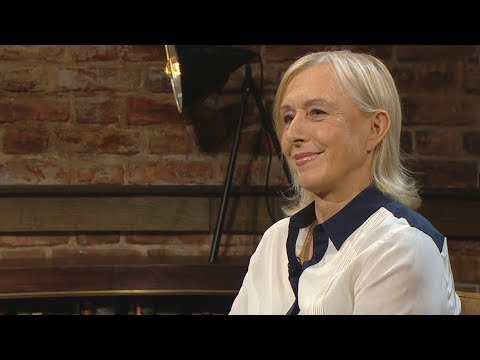 Martina Navratilova's first Wimbledon title was bittersweet | The Late Late Show | RTÉ One