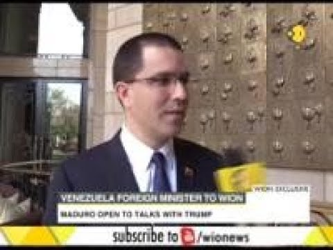 Wion Exclusive: Jorge Arreaza on India- Venezuela bilateral relations