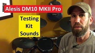 Alesis DM10 MKII Pro - Kit Sounds