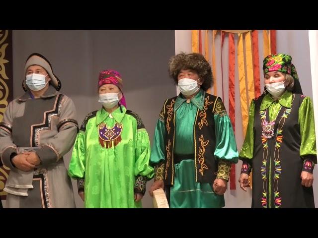 Открытие фестиваль-конкурса хайджи-нымахчи «Алыптығ нымах хараазы» — «Ночь богатырских сказаний».