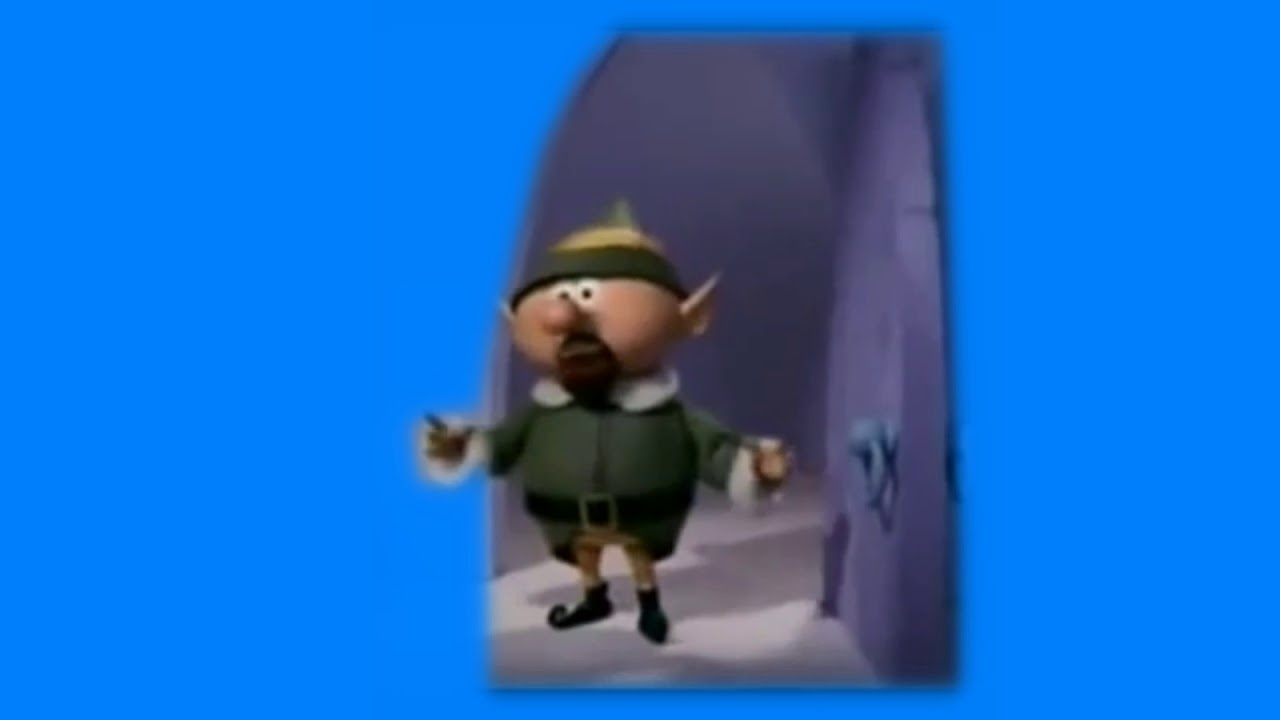 Why Weren't You At Elf Practice Bluescreen (reupload)