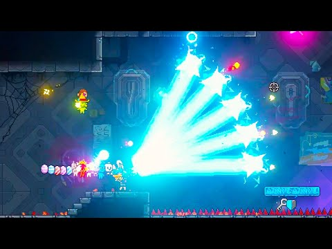 These Lasers Make It Almost Impossible To Lose in Neon Abyss |