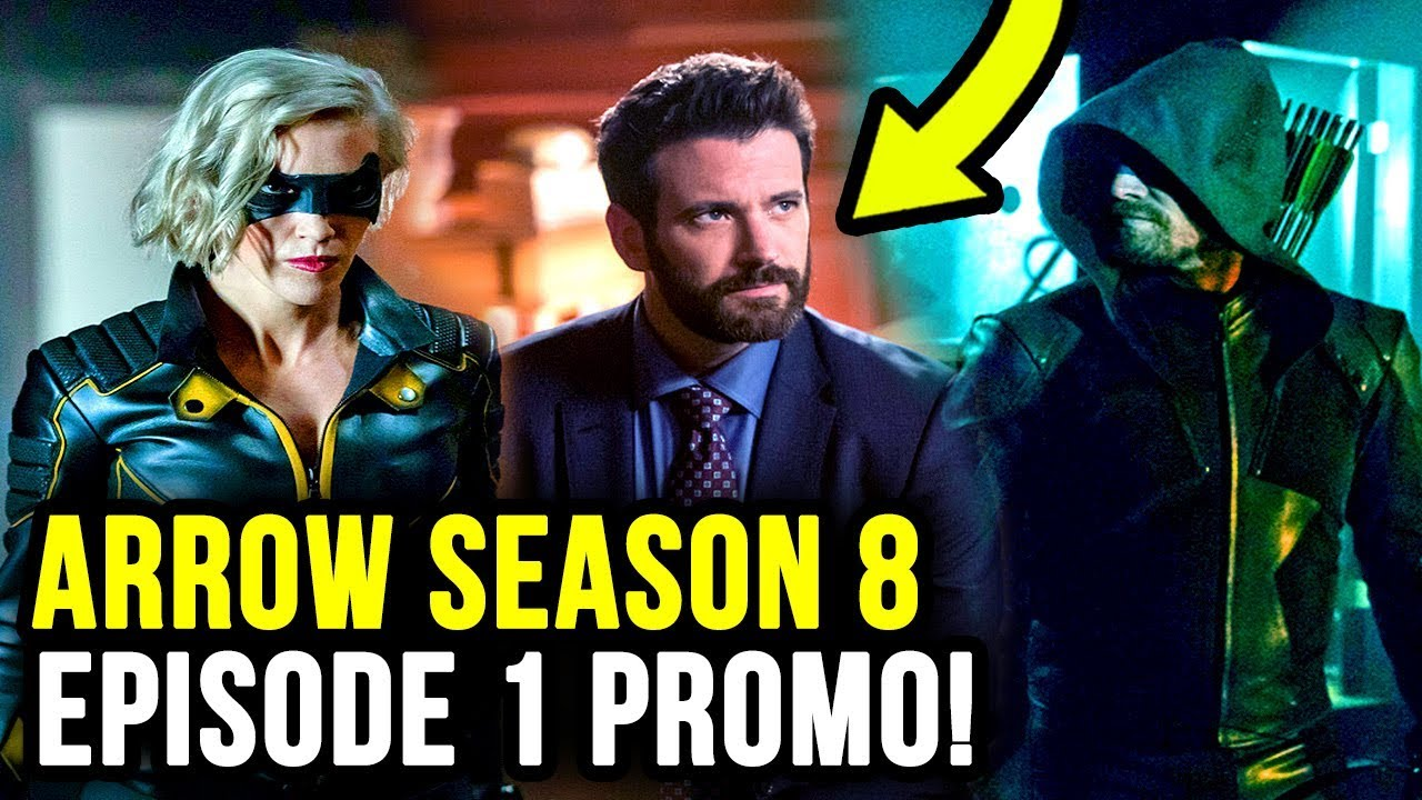 What World is THIS?! Is New Tommy Merlyn a VIGILANTE? - Arrow 8x01 Promo Photos image
