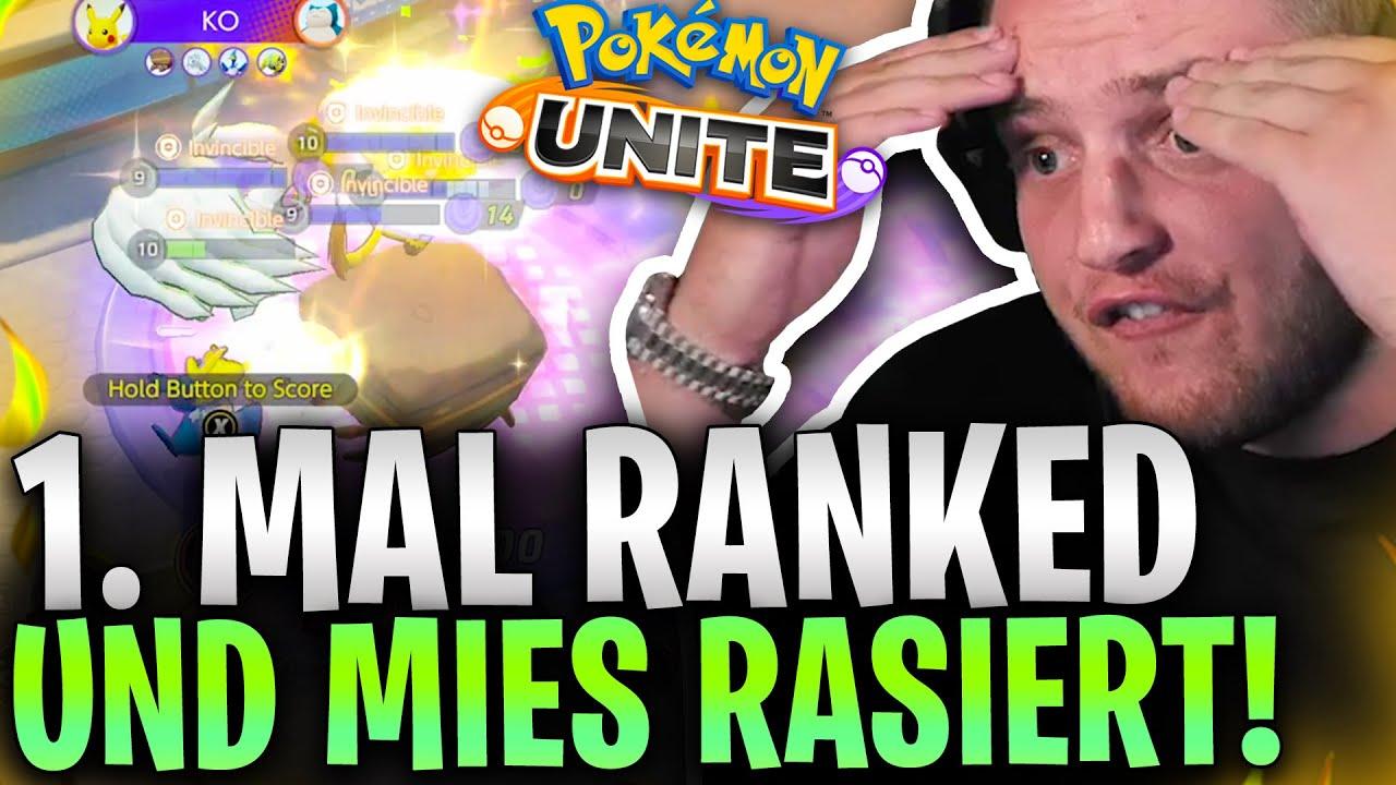 😎🤩ALS 1. VETERAN in DEUTSCHLAND werden?! | Endlich RANKED in Pokemon Unite mit den Bois!