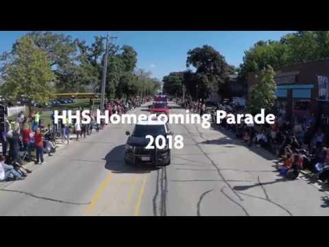 Huntley High School 2018 Homecoming Parade
