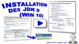 Installation des JDK 9 (Java Development Kit) auf Windows 10