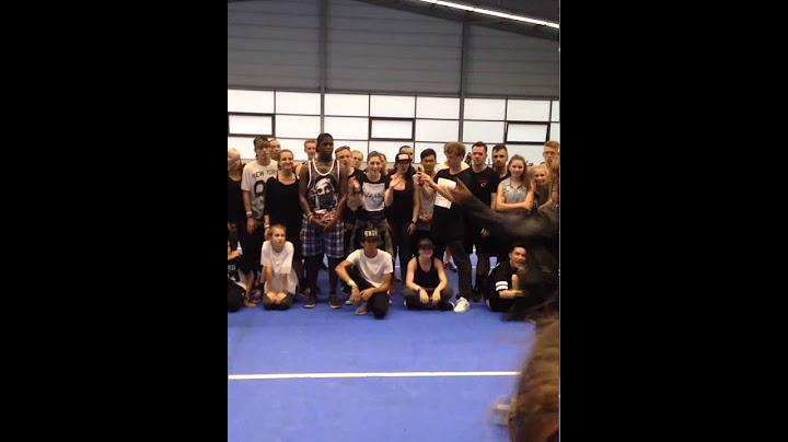 les twins  laurent freestyle  fair play dance camp