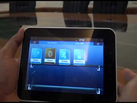 Aakash iTutor: Tablet for AIPMT-JEE-Foundations Coaching