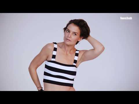 Katie Holmes  Women's Health Magazine  April 2018