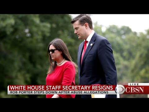 White House Staff Secretary Resigns After Domestic Violence Accusations